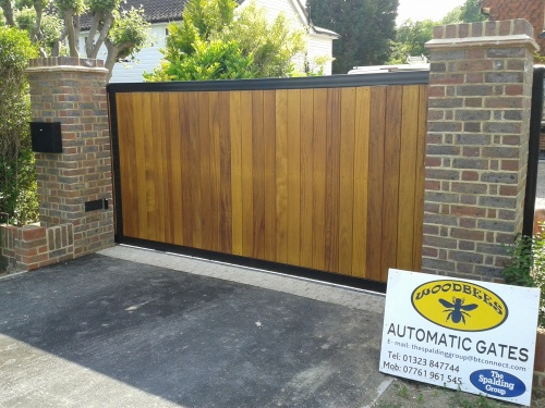 Bespoke Sliding Gate